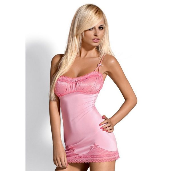 BARBIELLA CHEMISE PINK XXL (talla XXL y color ROSA)