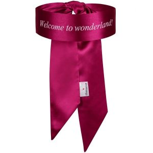 BLINDFOLD WELCOME TO WONDERLAND (talla UNICA y color ROSA)