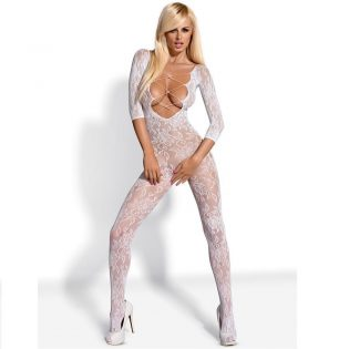 BODYSTOCKING WHITE   F200 S/M/L (talla S