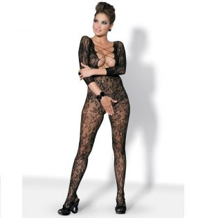 BODYSTOCKING BLACK F200 S/M/L (talla S
