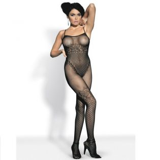 BODYSTOCKING BLACK  F202 S/M/L (talla S