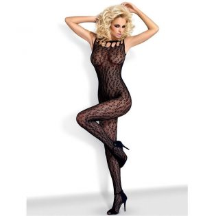 BODYSTOCKING BLACK  G306 S/M (talla S