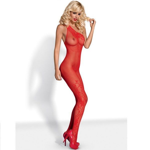 BODYSTOCKING RED F203 S/M/L (talla S