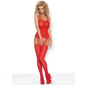 BODYSTOCKING RED F206  XL/XXL (talla XL