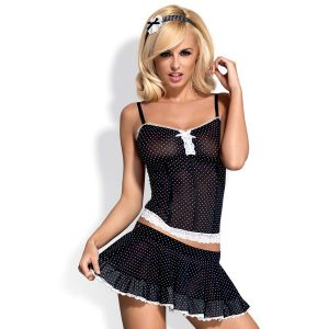 CUSTOME SERVANTA CORSET & SKIRT S/M (talla S