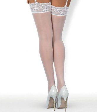 ETHERIA STOCKINGS WHITE S/M (talla S