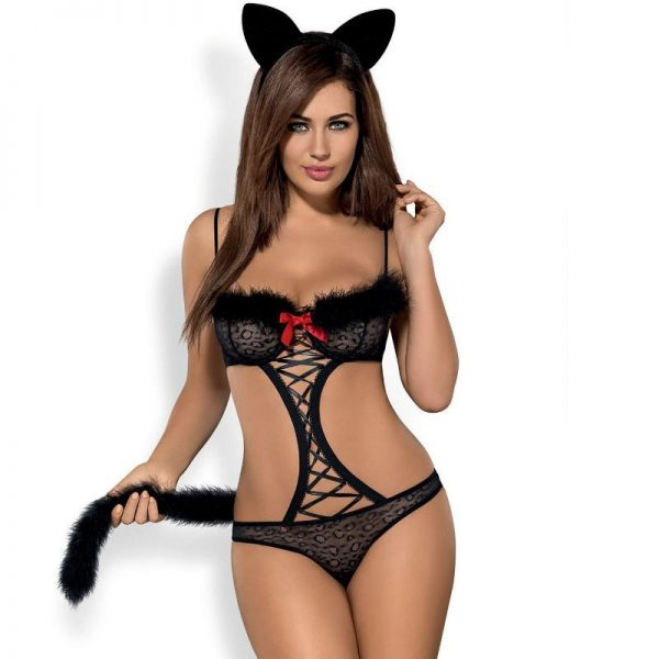 GEPARDINA 3PCS COSTUME XXL (talla XXL y color VARIOS)