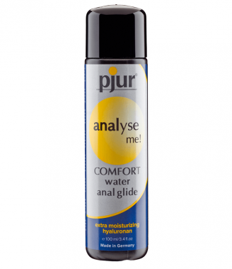 PJUR ANALYSE ME COMFORT WATER ANAL GLIDE 100 ML (talla  y color )