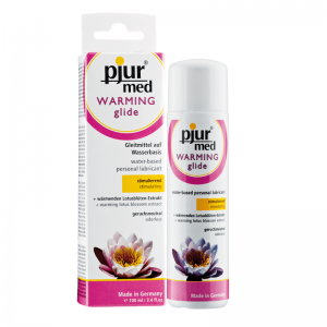 PJUR MED WARMING GLIDE 100 ML (talla  y color )