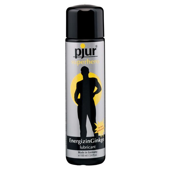 PJUR SUPERHERO ENERGIZINGINKGO LUBRICANT 100 ML (talla  y color )