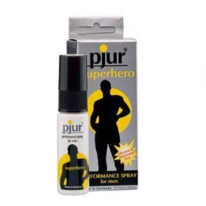 PJUR SUPERHERO DELAY SPRAY (talla  y color )