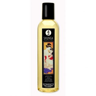 SHUNGA EROTIC MASSAGE OIL STRAWBERRIES AND CHAMPAGNE (talla  y color )