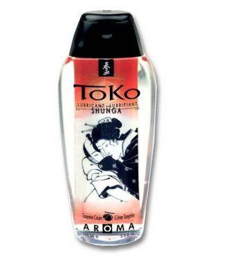 SHUNGA TOKO AROMA LUBRICANT TANGERINE CREAM (talla  y color )