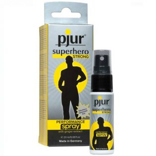 PJUR SUPERHERO STRONG 20 ML (talla  y color )