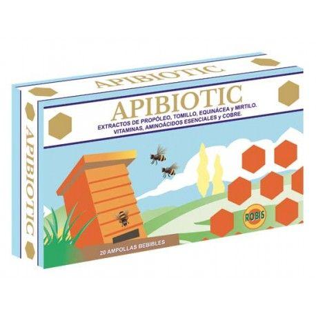 APIBIOTIC 20 AMPOLLAS    en formato de 20 amp