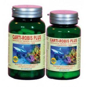 CARTI-ROBIS PLUS PACK AHORRO 80+40 CÁPSULAS    en formato de 120 caps