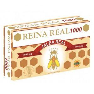REINA REAL 1000 20 AMPOLLAS    en formato de 20 amp