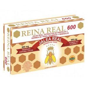 REINA REAL 600 20 AMPOLLAS    en formato de 20 amp