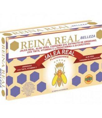 REINA REAL BELLEZA 20 AMPOLLAS    en formato de 20 amp