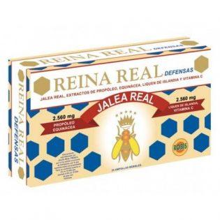 REINA REAL DEFENSAS 20 AMPOLLAS    en formato de 20 amp