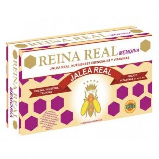 REINA REAL MEMORIA 20 AMPOLLAS    en formato de 20 amp