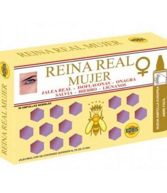 REINA REAL MUJER 20 AMPOLLAS    en formato de 20 amp