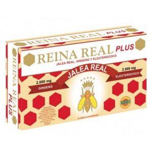 REINA REAL PLUS 20 AMPOLLAS    en formato de 20 amp