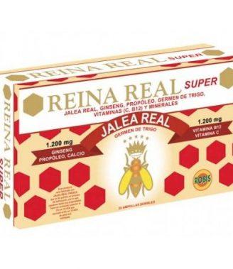 REINA REAL SUPER 20 AMPOLLAS    en formato de 20 amp