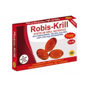 ROBIS KRILL 30 CÁPSULAS    en formato de 30 caps