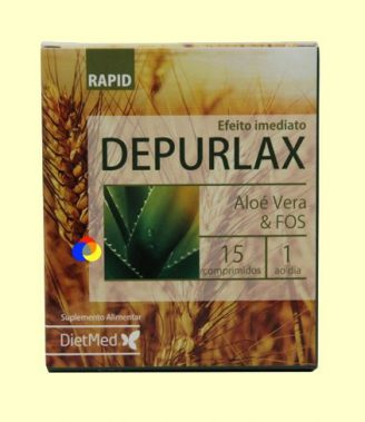 Depurlax Rapid - DietMed - 15 comprimidos