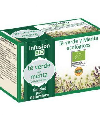 Infusión Té verde con menta Bio - Robis - 20 filtros
