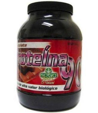 Proteínas 90% fresa 500gr. - Sotya
