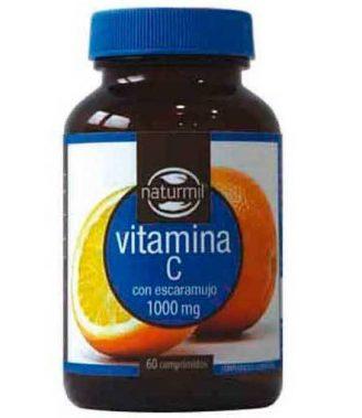 Vitamina C con Escaramujo 1000 mg 60 Comp Naturmil DietMed