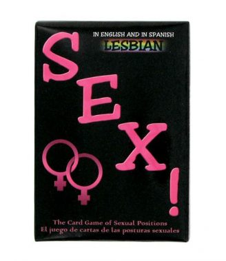 CARTAS LESBIAN SEX THE CARD GAME