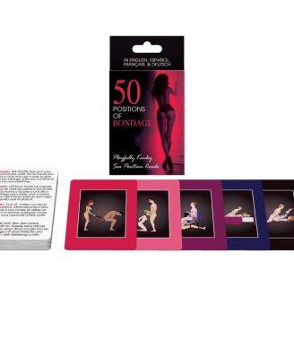CARTAS CARTAS 50 POSICIONES DE BONDAGE
