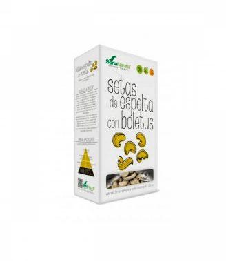 SETAS DE ESPELTA CON BOLETUS 250G BIO