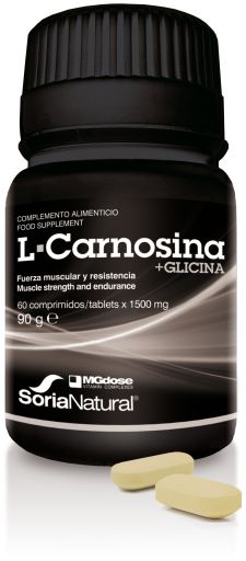 MG DOSE L-CARNOSINA + GLICINA 60 COMPRIMIDOS