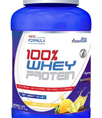 AME-BLUE 100% WHEY PROTEIN 2KG VAINILLA