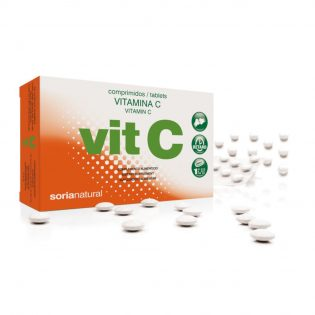 VITAMINA C RETARD 36 COMPRIMIDOS DE 500 MG SORIA NATURAL