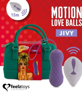 ELLA FEELZTOYS - REMOTE CONTROLLED MOTION LOVE BALLS JIVY