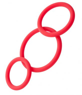 EL BLACK&RED 901404-9 COCKRINGS SET