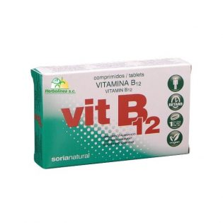 VITAMINA B12 48 COMP SORIA NATURAL