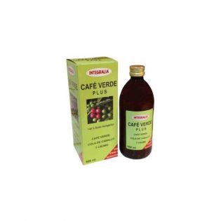 CAFÉ VERDE PLUS JARABE 500 ML