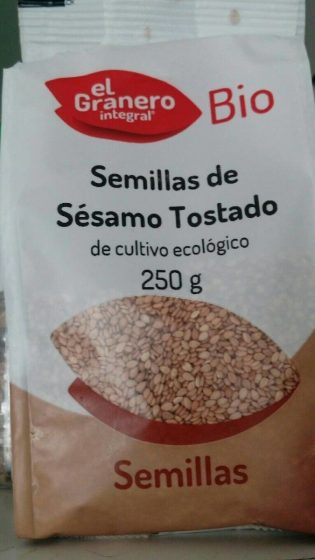 SEMILLAS DE SESAMO TOSTADO BIO