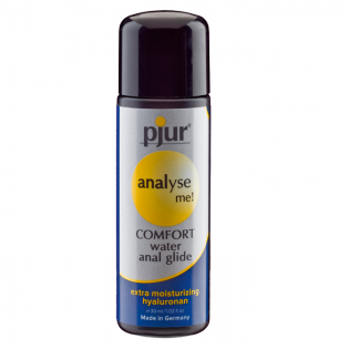 ANAL LUBRICANTES LUBRICANTE RELAJANTE ANAL BASE AGUA PJUR ANALYSE ME COMFORT GLIDE 30 ML