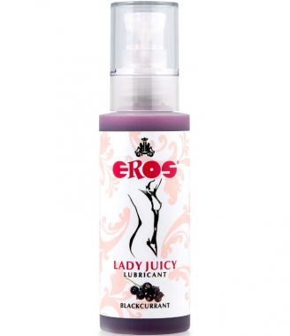 SABORES LUBRICANTES EROS LADY JUICY LUBRICANTE GROSELLA 125ML