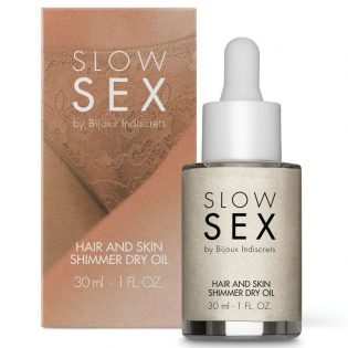 PLACER 5 HAIR AND SKIN SHIMMER DRY OIL - SLOW SEX