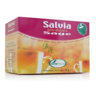SORIA NATURAL SALVIA 30 GR 20 FILTROS
