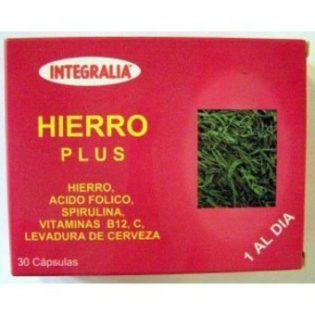 HIERRO PLUS 30 CÁPSULAS