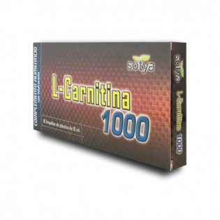 L-CARNITINA 1000MG 10ML AMPOLLA PLÁSTICO 10U
